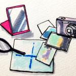 コミュニケーションに必要な自分の姿を知るイメージをコピックマーカーで描いたイラスト