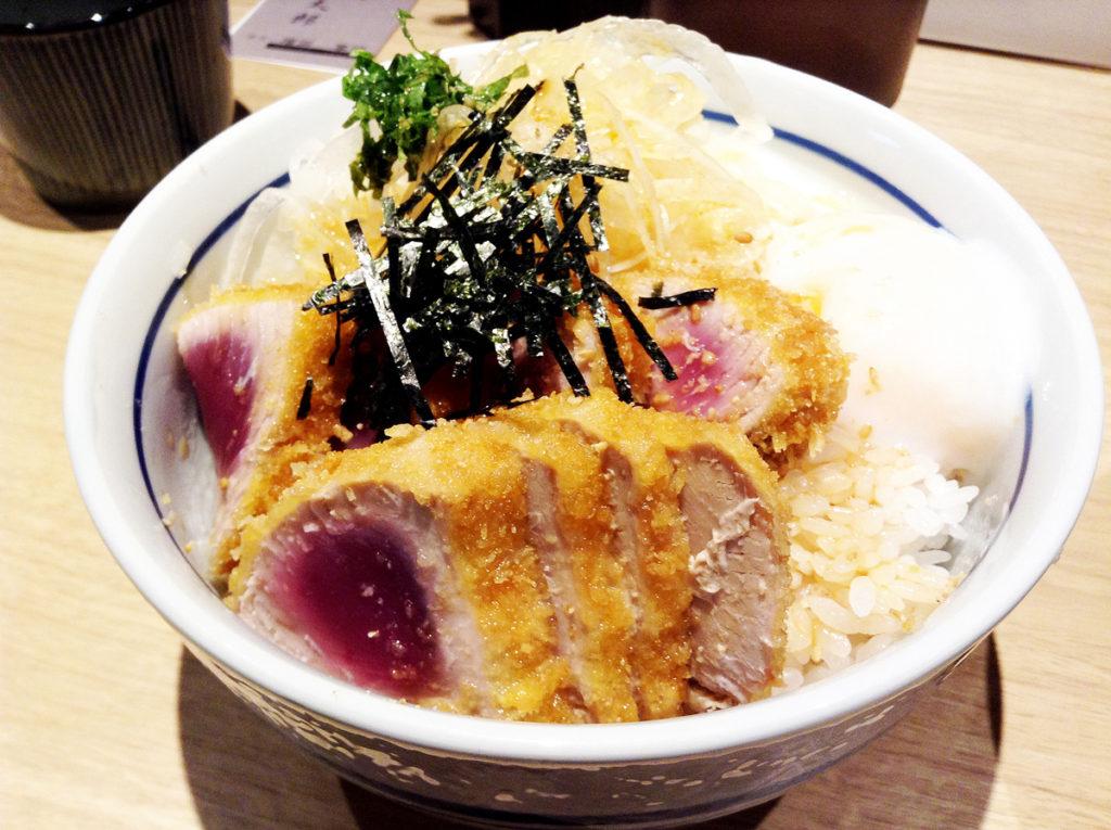 神戸・三ノ宮・さんプラザ 才谷梅太郎 鰹のカツ丼