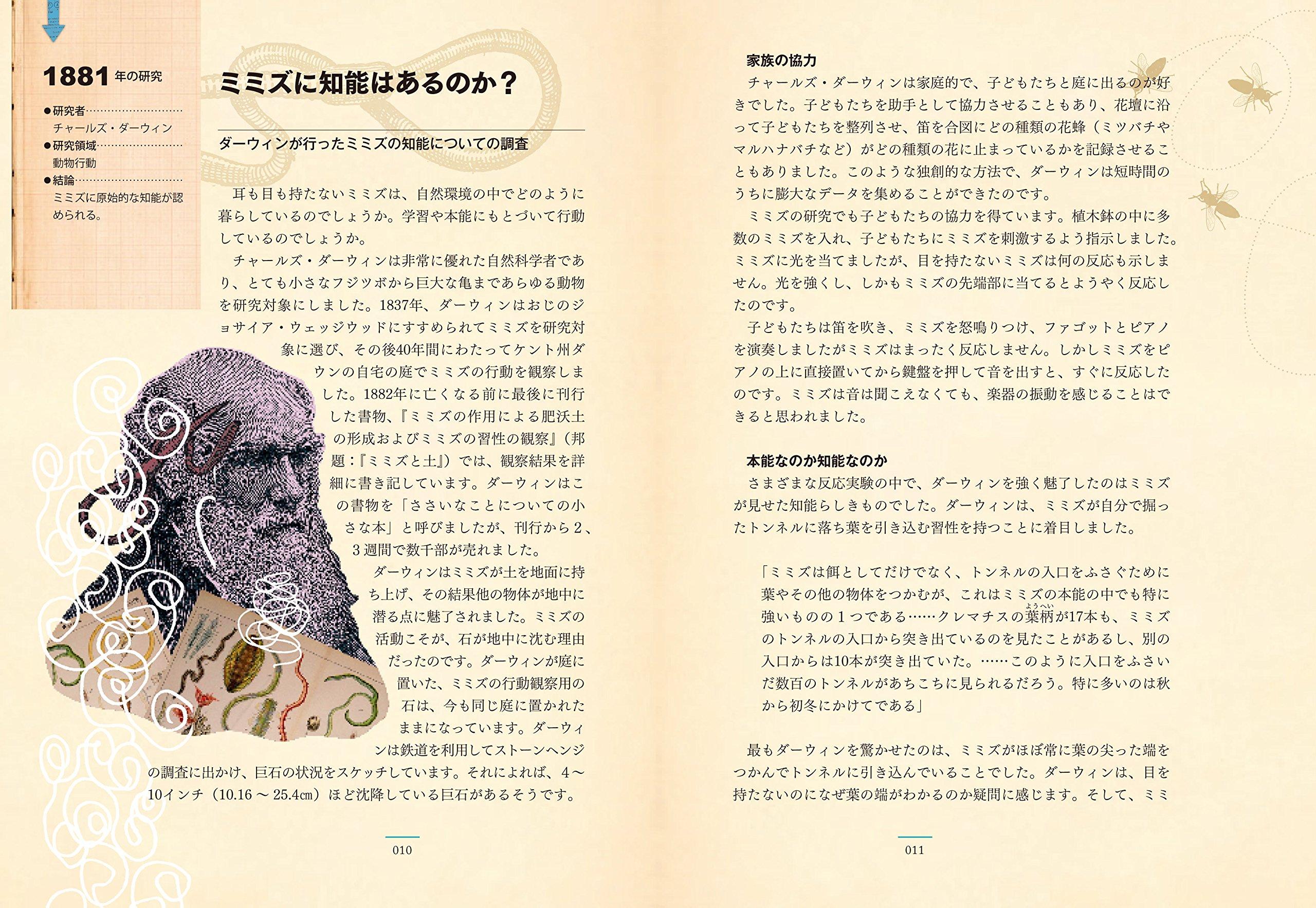 『パブロフの犬:実験でたどる心理学の歴史』見開きイメージ