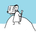 『カラー版 イチから知りたい! 聖書の本』挿絵イラスト