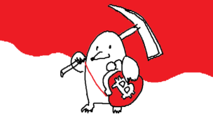 『暗号が通貨になる「ビットコイン」のからくり』挿絵イラスト