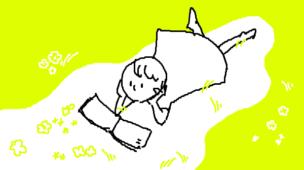 『どんな絵本を読んできた?』挿絵イラスト