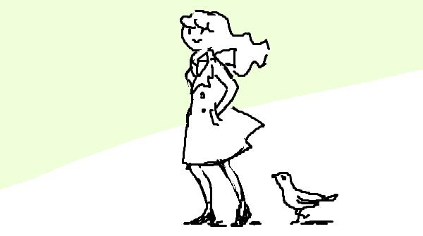 『歩き方で人生が変わる』挿絵イラスト