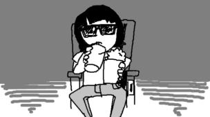 『サブカルで食う』挿絵イラスト