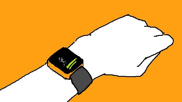 『正しいウォーキングの始め方』挿絵イラスト