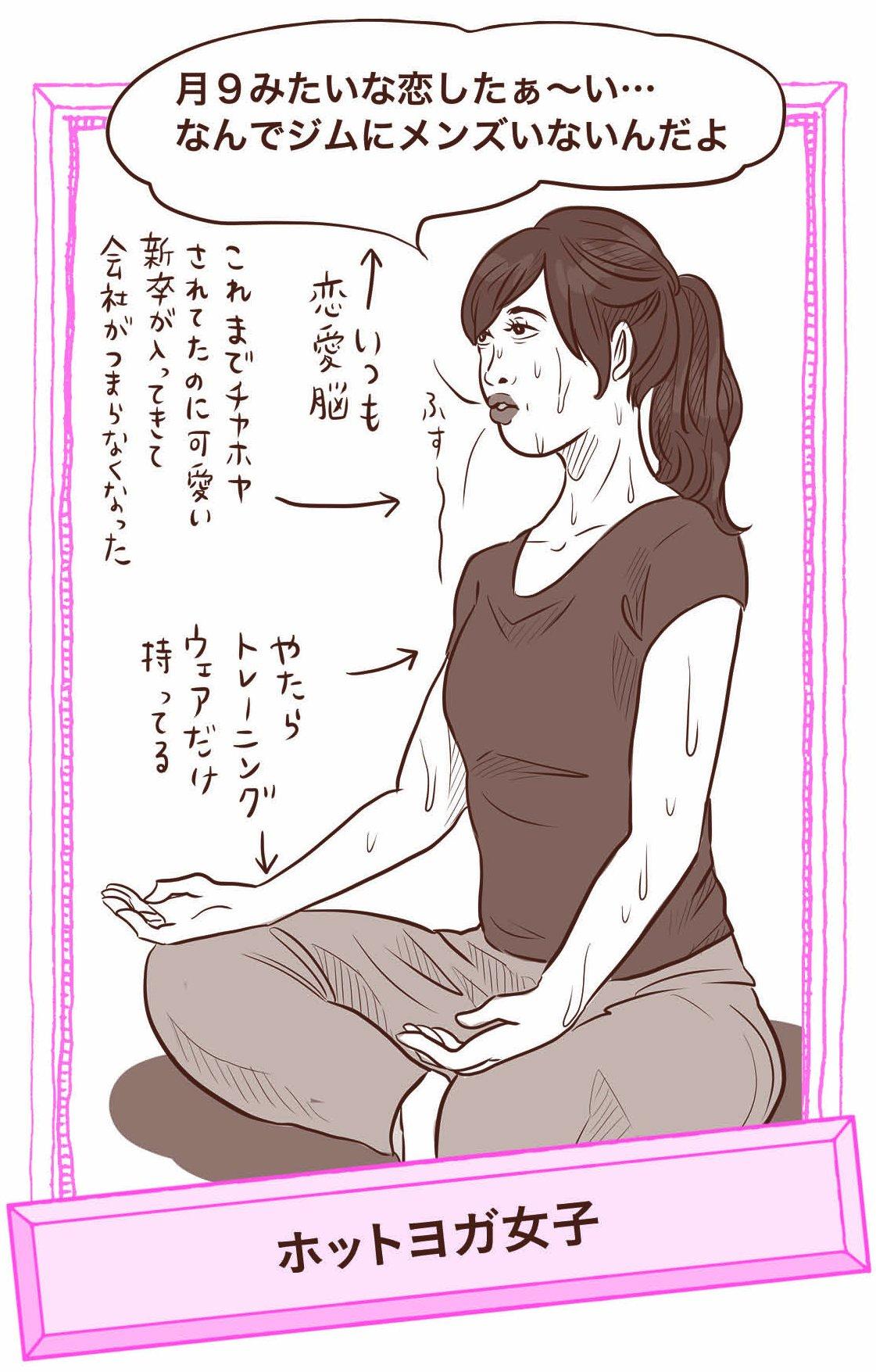 『糖質をやめられないオトナ女子のためのヤセ方図鑑』ビジュアル資料