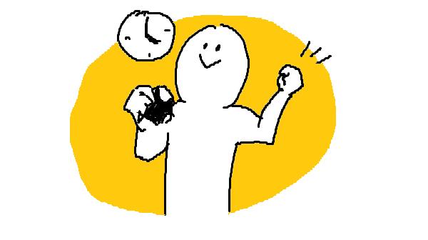 『太らない間食』挿絵イラスト