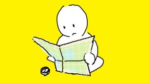 『職場の問題地図』挿絵イラスト