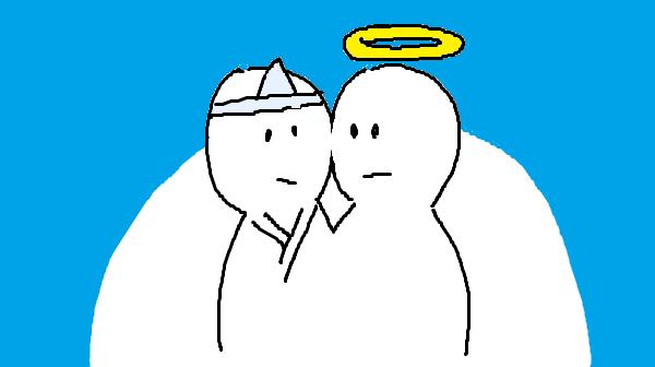 『人は「死後の世界」をどう考えてきたか』挿絵イラスト