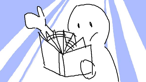 『速読勉強法』挿絵イラスト