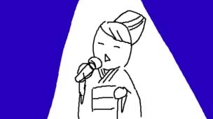 『創られた「日本の心」神話』挿絵イラスト