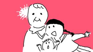 『老いる勇気』挿絵イラスト