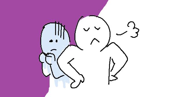 『はじめての嘘の心理学』挿絵イラスト