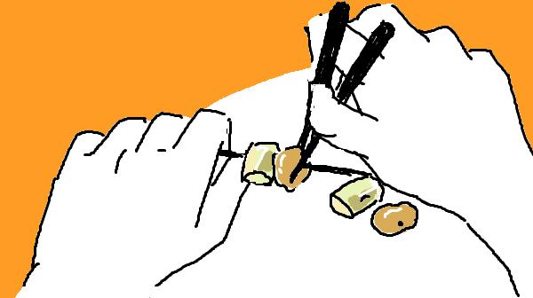 『モヤモヤするあの人』挿絵イラスト