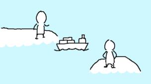 『個人ではじめる輸入ビジネス』挿絵イラスト