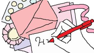 『うれしいおくりもの』挿絵イラスト