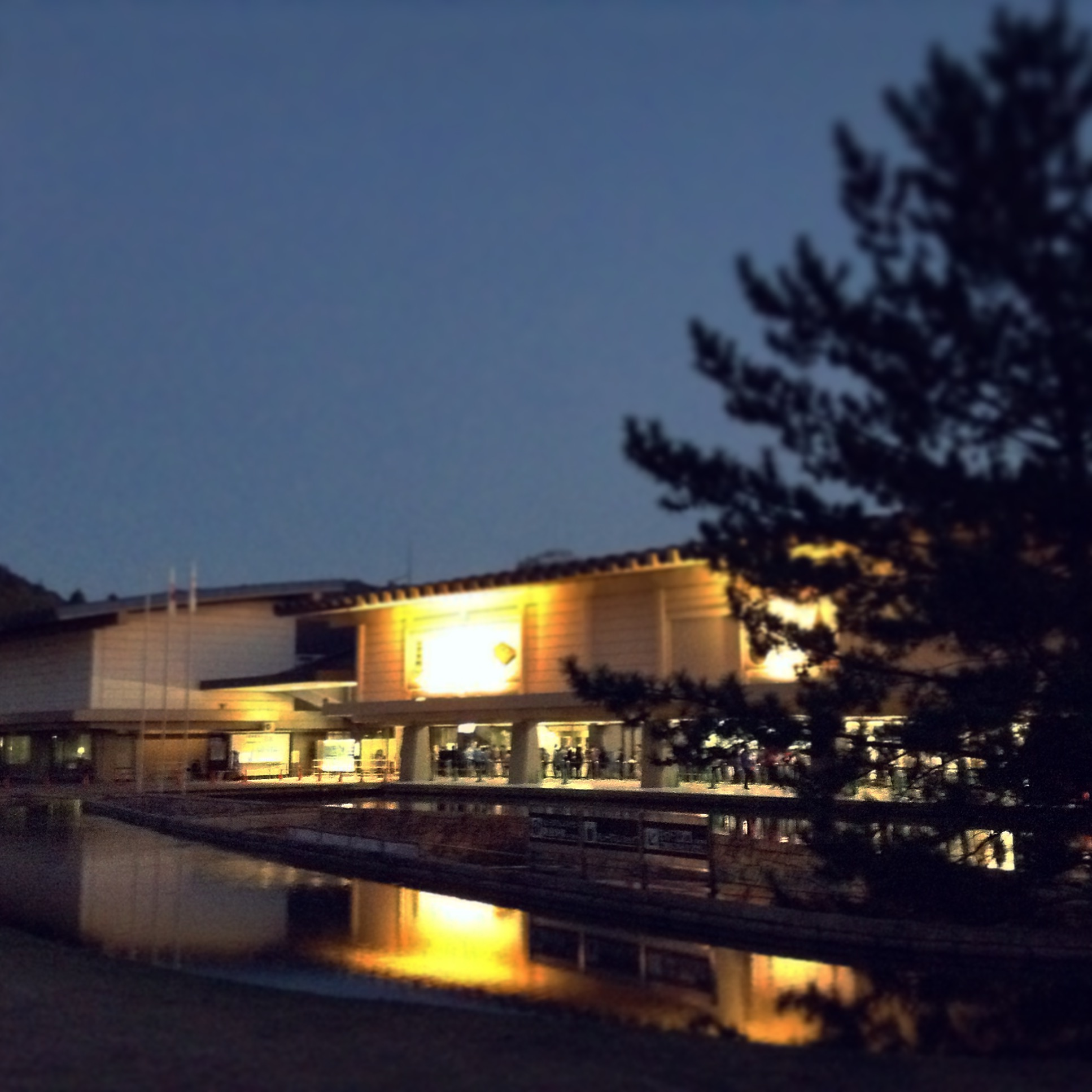 正倉院展開催中の奈良国立博物館の様子