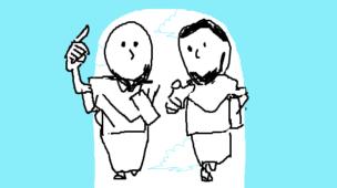 『人生を変えるメンターと出会う法』挿絵イラスト