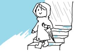 『知られざる地下街』挿絵イラスト